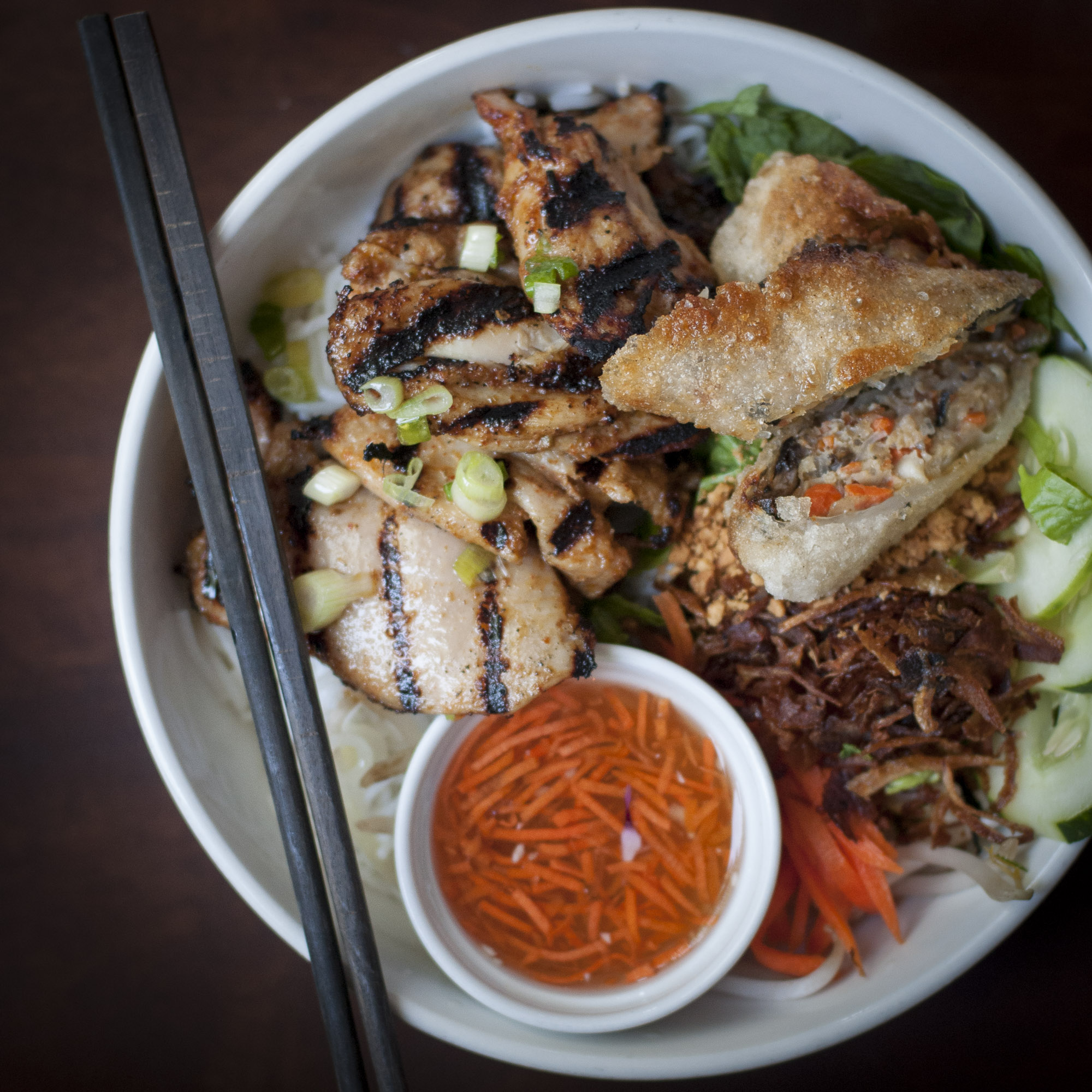 Grilled Chicken Vermicelli