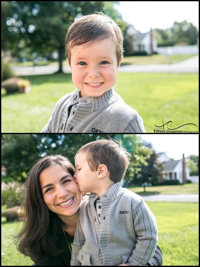 Henry LOVES his momma!!