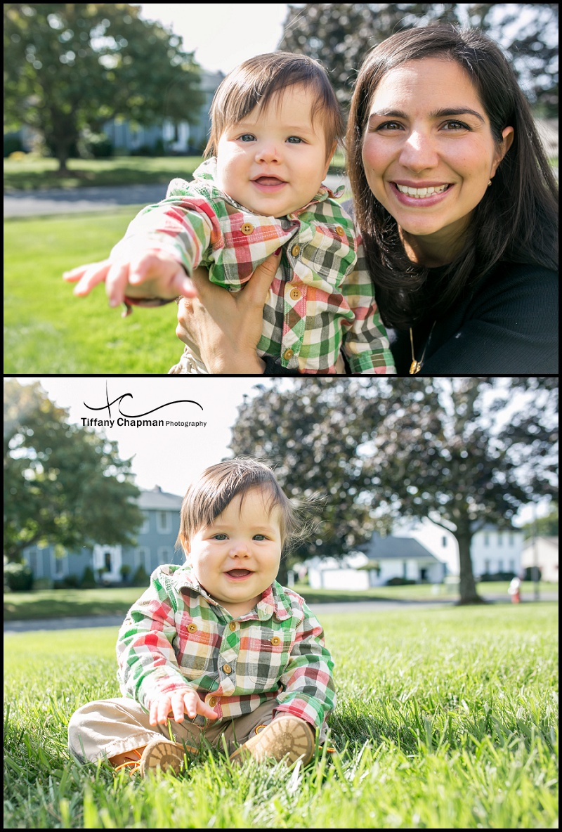 Samuel always smiling and drooling...and OH MY Gosh...Cuteness Factor - Hello!!