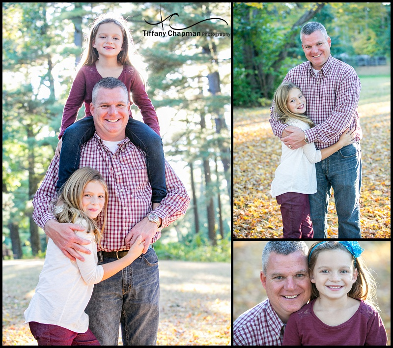 I just adored how sweet these girls were with their dad!
