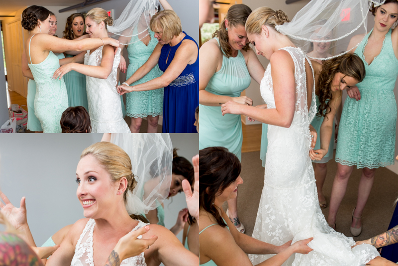 I have never seen such a happier bride to be!