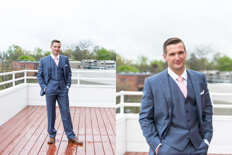 Thank you to my second shooter, Jessica of Jessica Marie Photography for the getting ready images of Ben and his groomsmen! Ben you are so handsome!
