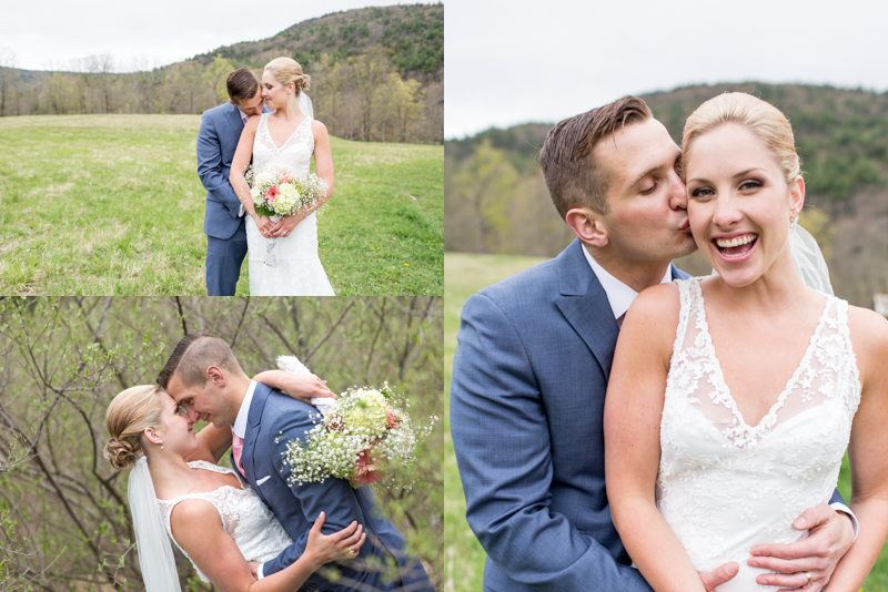 So thankful the rain held off long enough for us to get up to the mountain side for these photos!
