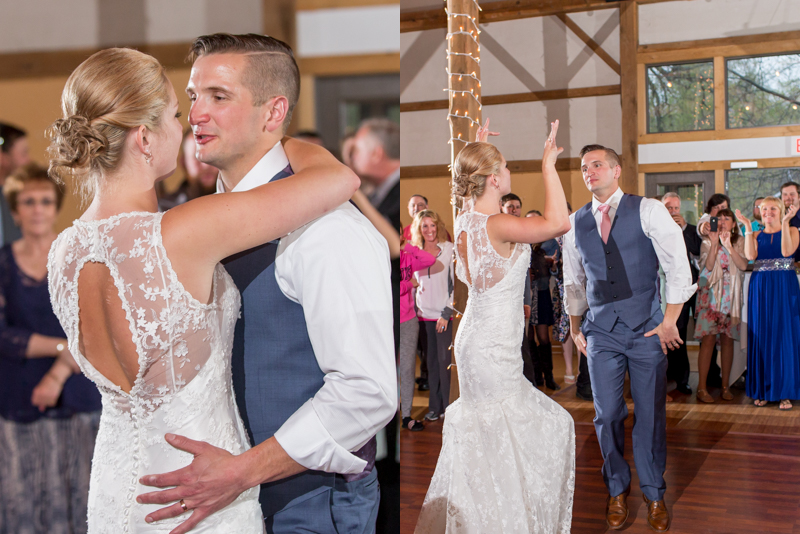 I loved the energy between these two during their first dance that turned from SLOW to FAST...So awesome!