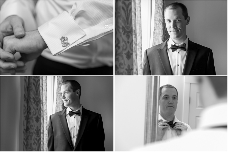 Thank you Jessica of J essica Marie Photography  for these dapper images of Dave getting ready.