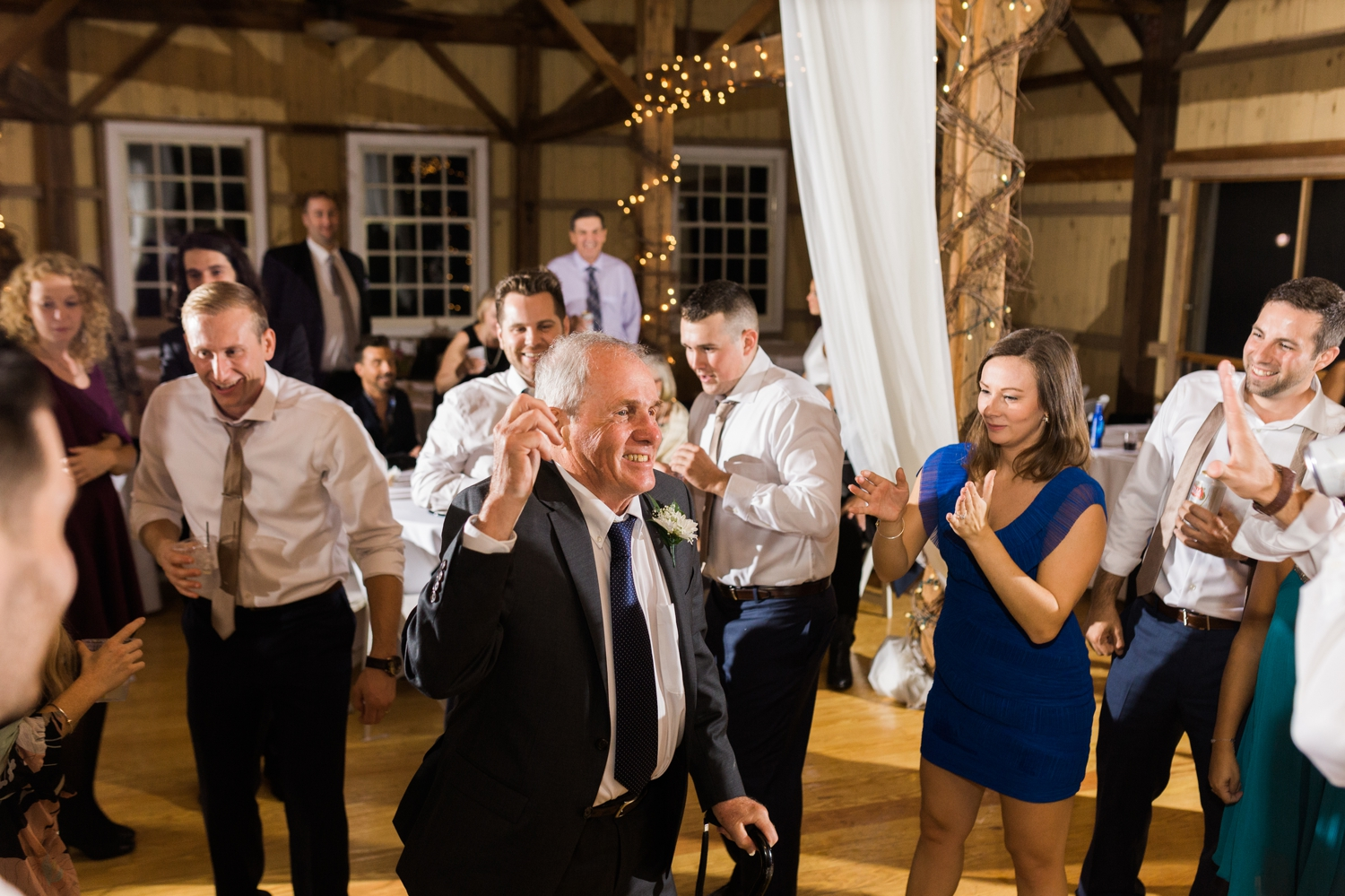 Loved this part of the night! Brendan's Dad had some moves!