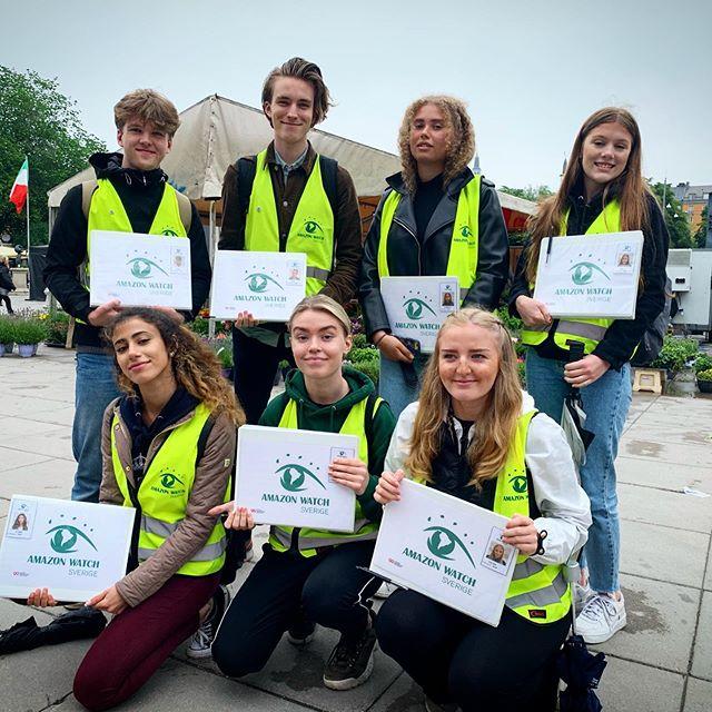Nu kör vi face-to-face kampanj för Amazon Watch helt pro-bono (personalen får självklart lön). Ser du oss på stan gå gärna med för att rädda regnskogen. #facetoface #insamling #fundraisingideas #fundraising #stockholm #fundraisingbyrån #fundraisingbyran #amazonwatch #räddaregnskogen #probono