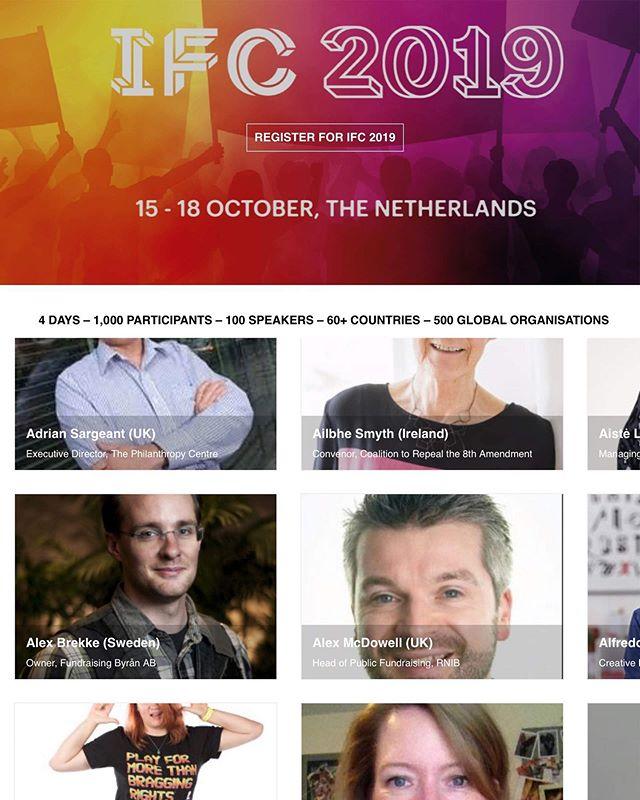 Fundraising Byrån kommer tala på den internationella fundraising konferensen i Holland nu på onsdag. 🎤 #fundraising #ifc #ifc2019 #fundraisingbyrån #fundraisingbyran