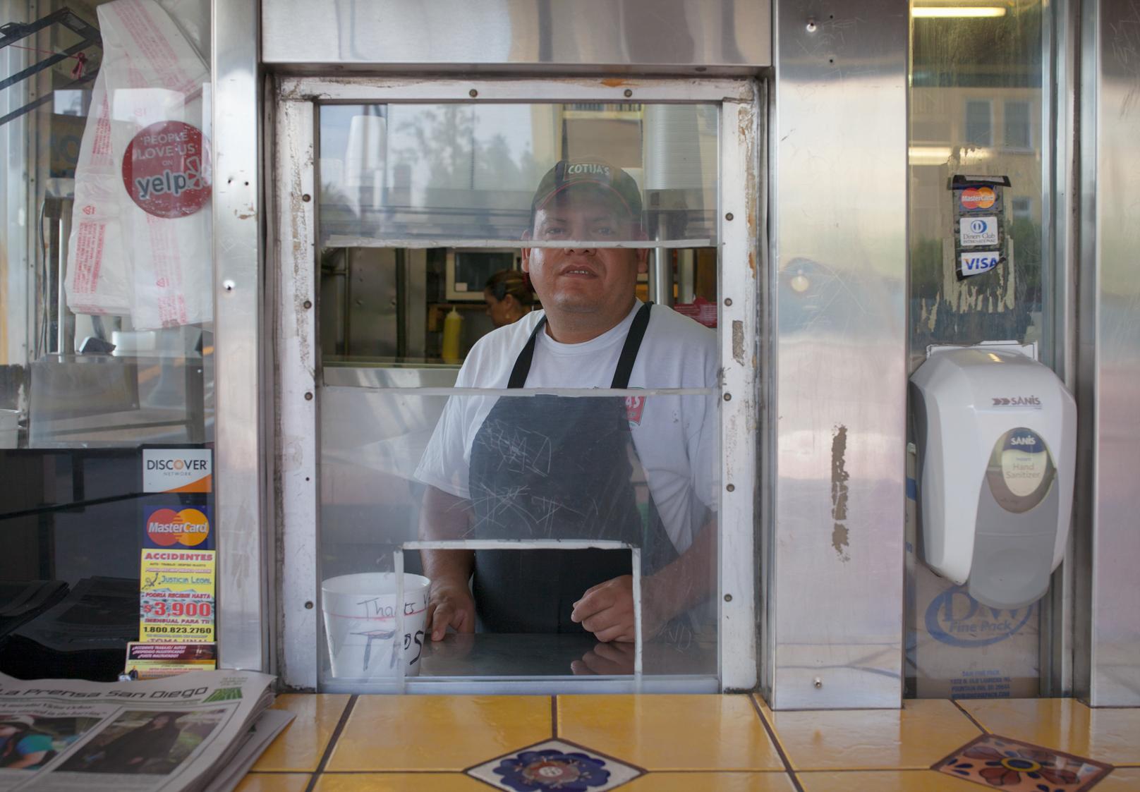STEVE, OWNER, Cotija's Taco Shop