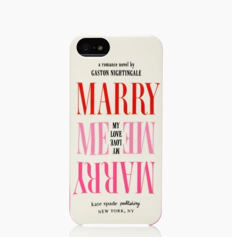MARRY ME IPHONE 5 CASE US$40.00
