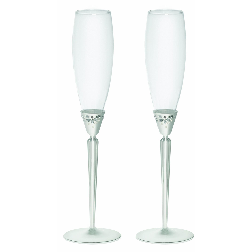Waterford Monique Lhuillier Modern Love Toasting Flute Pair