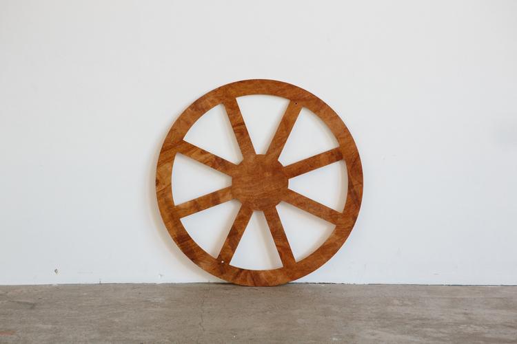 Plywood Wagon Wheel