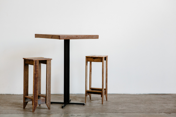 'Straight Up' Bar Table