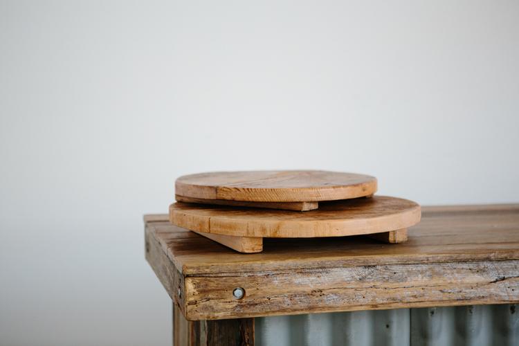 'Serve Me Up' Round Cake Boards