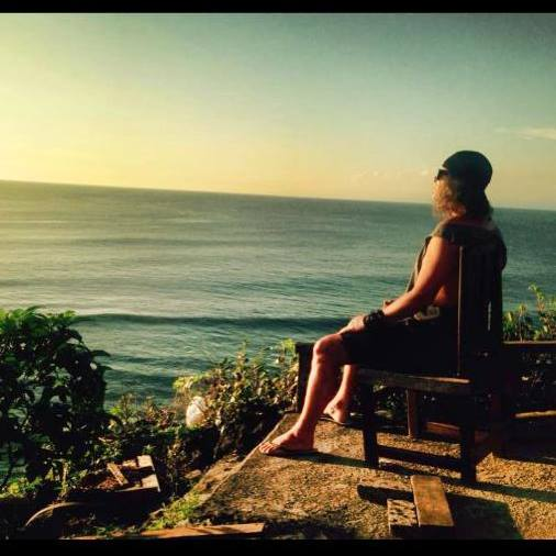 Caleb on a recent trip to Bali, Indonesia.