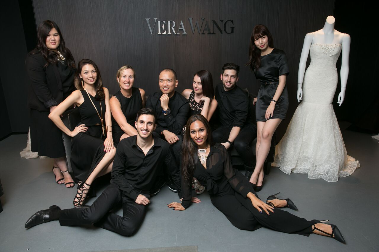 The incredible hosts from  Vera Wang  and  YTD Pty Ltd