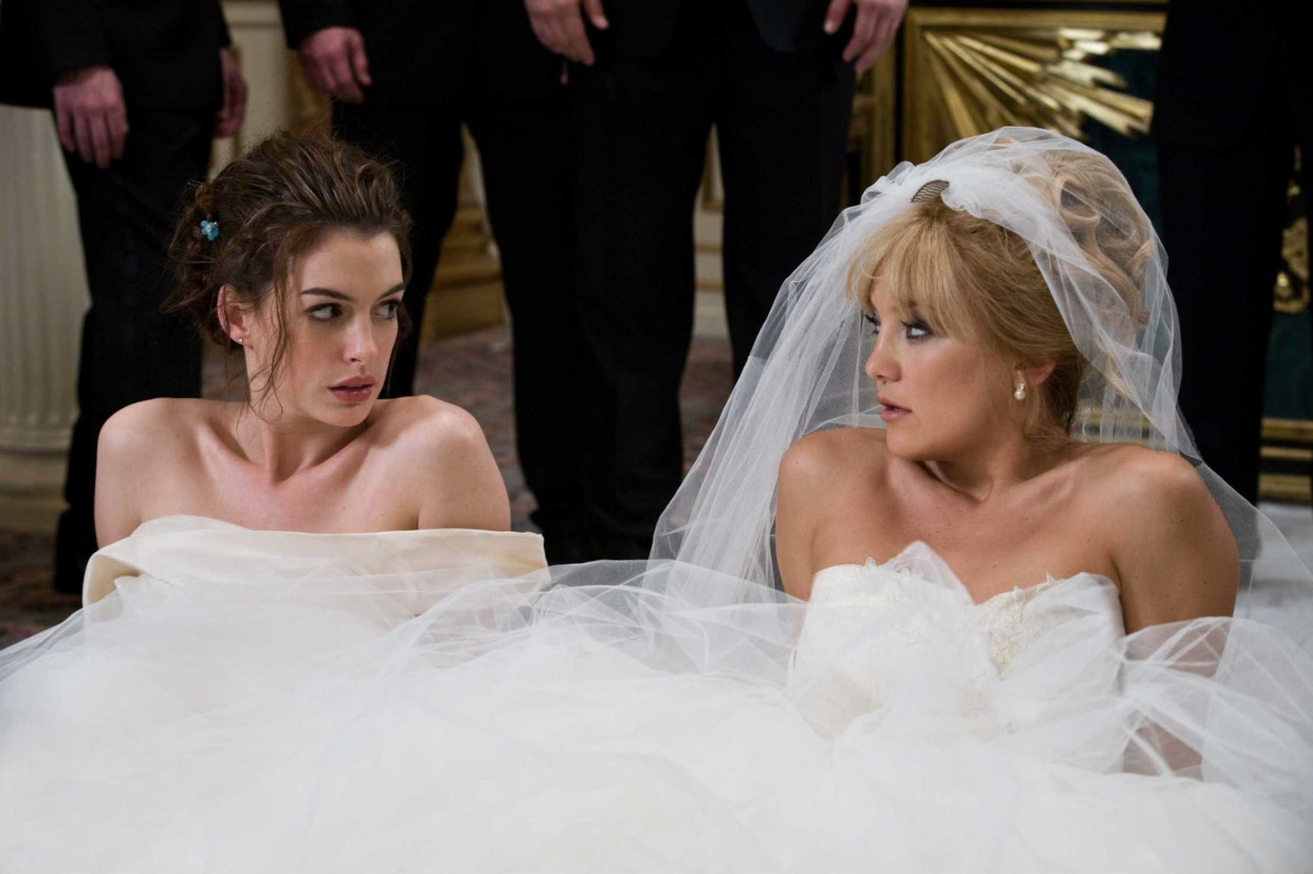 Don't miss your out on the venue or date you've been dreaming of for years. Get organised quickly! Image: Bride Wars featuring Kate Hudson and Anne Hathaway.