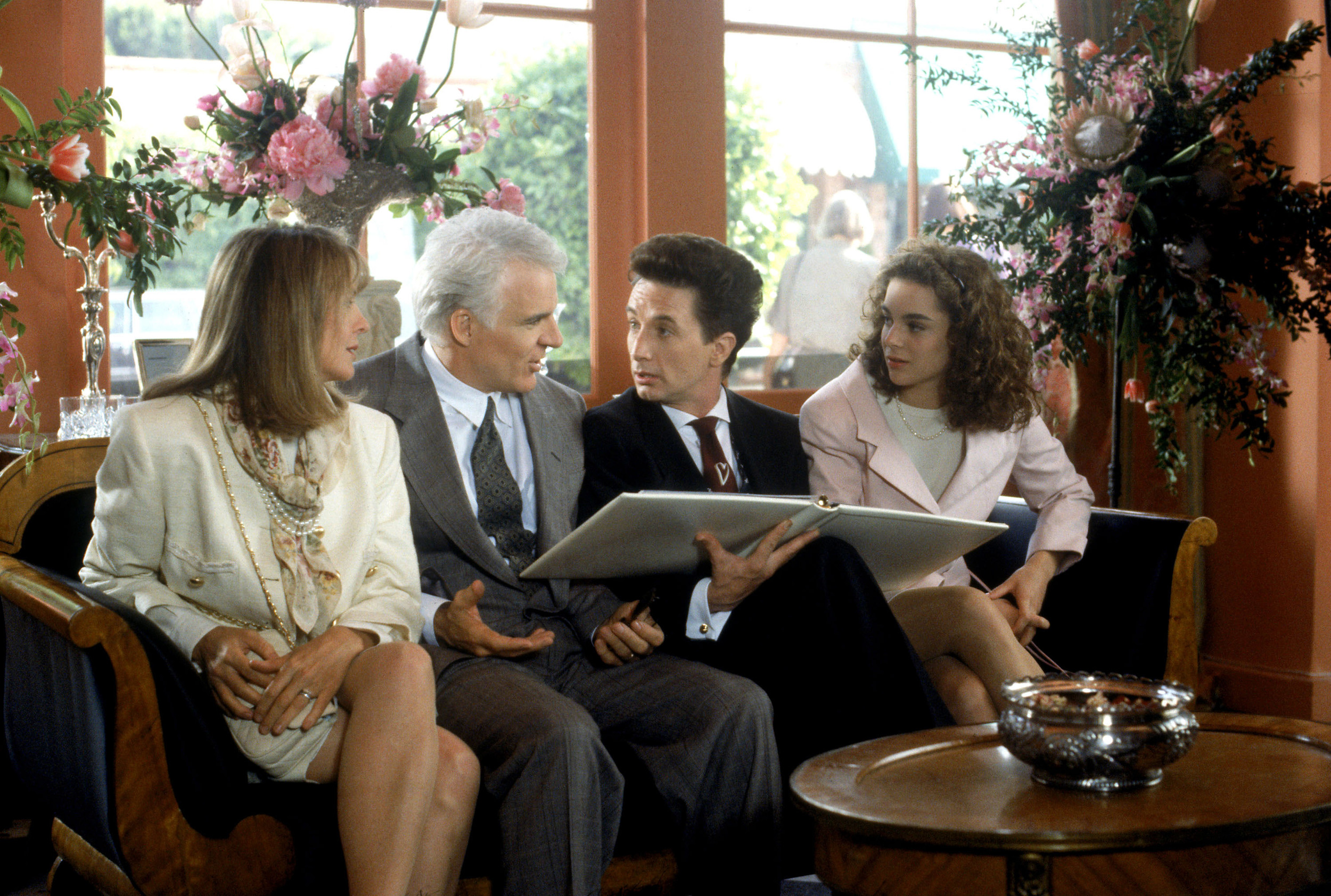 Make all your final decisions and don't leave anything to chance. Get help if you are not confident or by the process! Image: Father Of The Bride during a wedding planning session.