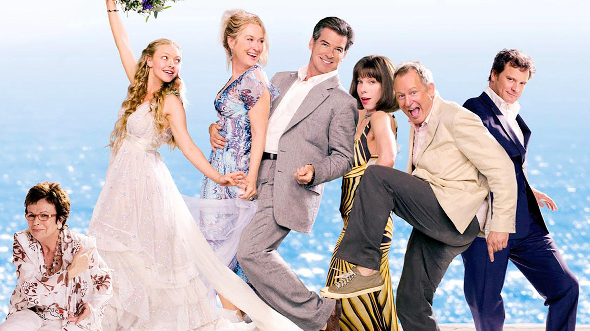 Mamma Mia in the Greek Islands - what an amazing honeymoon destination!