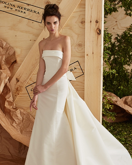 Wedding dress by   Carolina Herrera |Photo: Carolina Herrer