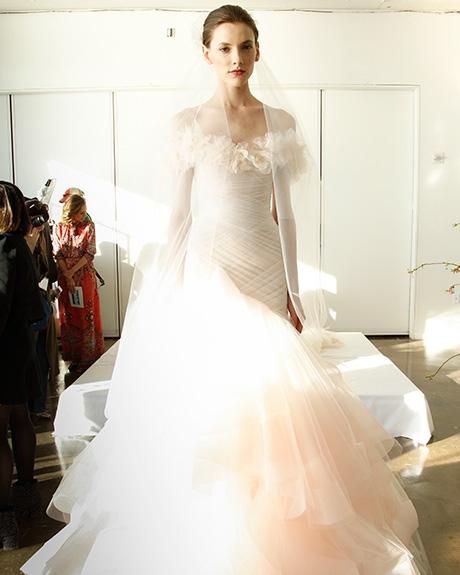 Wedding Gown  Marchesa |Photo: Gerardo Somoza /  Indigitalimages.com