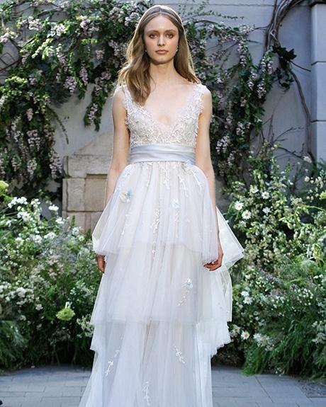 Wedding Gown Monique Lhuillier  |Photo: Gerardo Somoza /  Indigitalimages.com