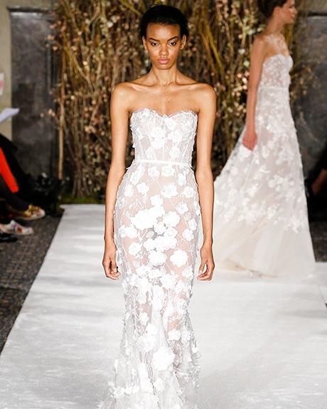 Wedding dress by   Mira Zwillinger |Photo: Luca Tombolini / Indigitalimages.com