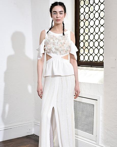 Wedding dress by   Houghton | Photo: Rodin Banica /  Indigitalimages.com