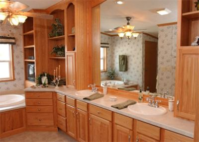 Natural Oak Cabinetry