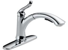Delta Linden Chrome Kitchen Faucet