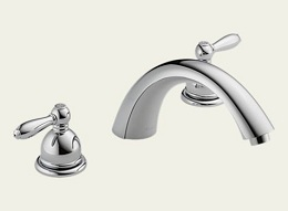 Delta Apex Chrome Roman Tub Faucet