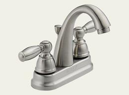 Delta Apex Brushed Nickel Bath Lav Faucet