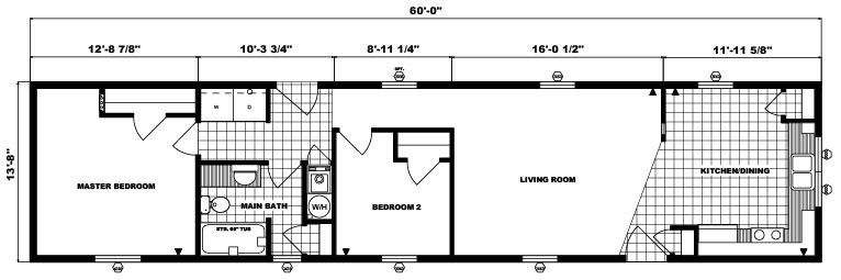 G-402 -14' x 60' -820 sq. ft.