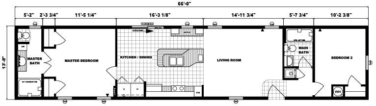 G-526 -14' x 66' - 956 sq. ft.