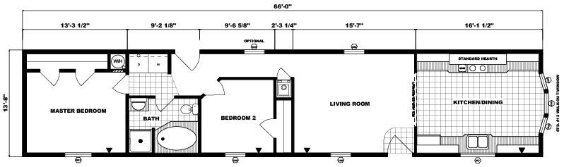 G-561 -14' x 66' - 902 sq. ft.