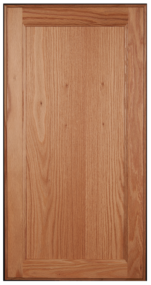 Flat panel, square door
