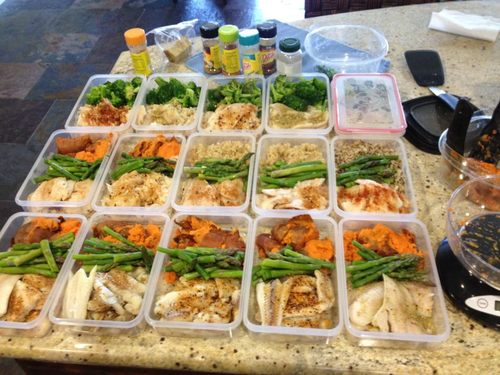 I don't know about you, but I would get pretty sick of this pretty fast....let's make meal prep more exciting and tasty.