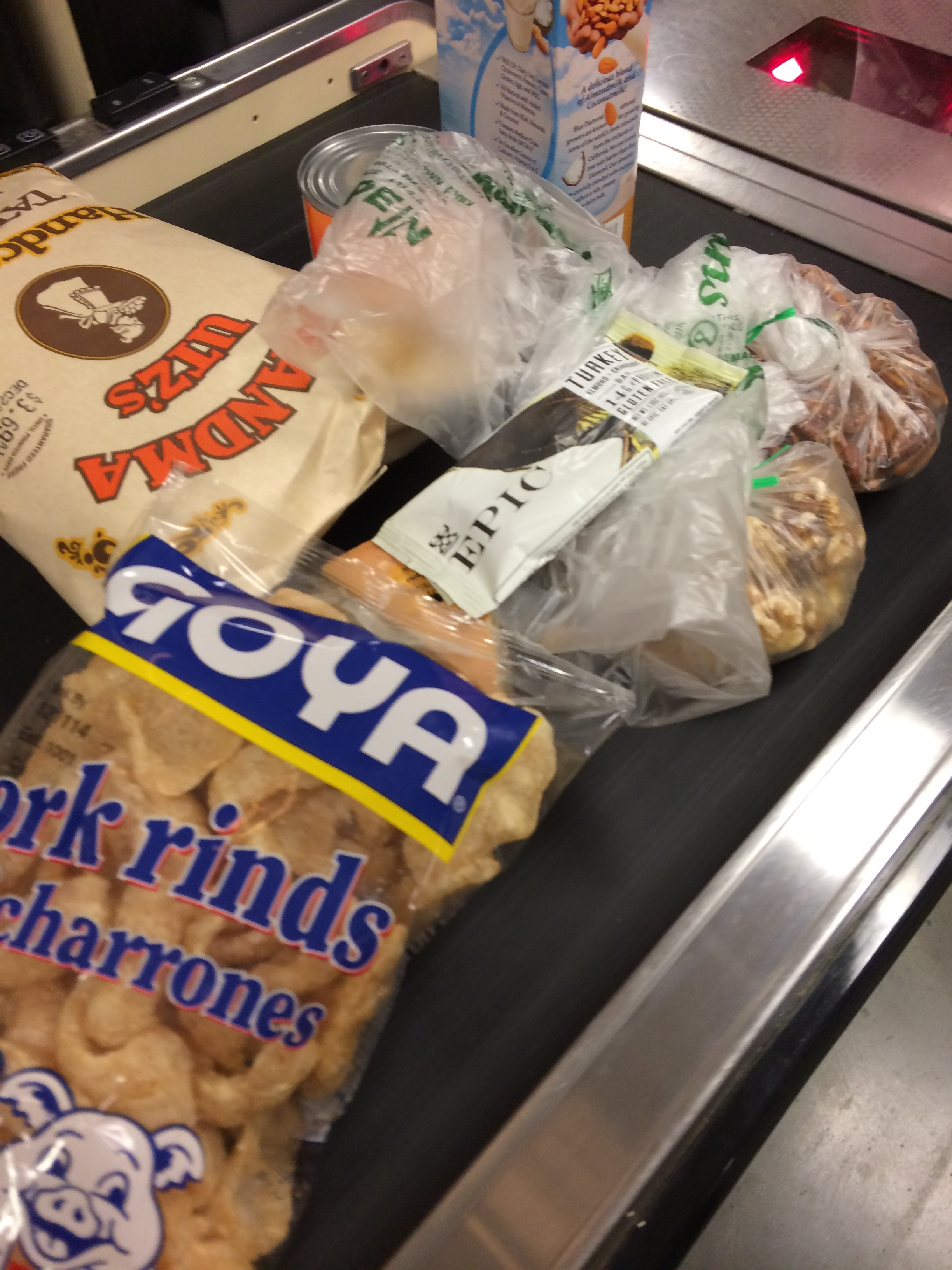 I love my snacks (especially chicharrones) as much as the next person, but snacks are all about timing...