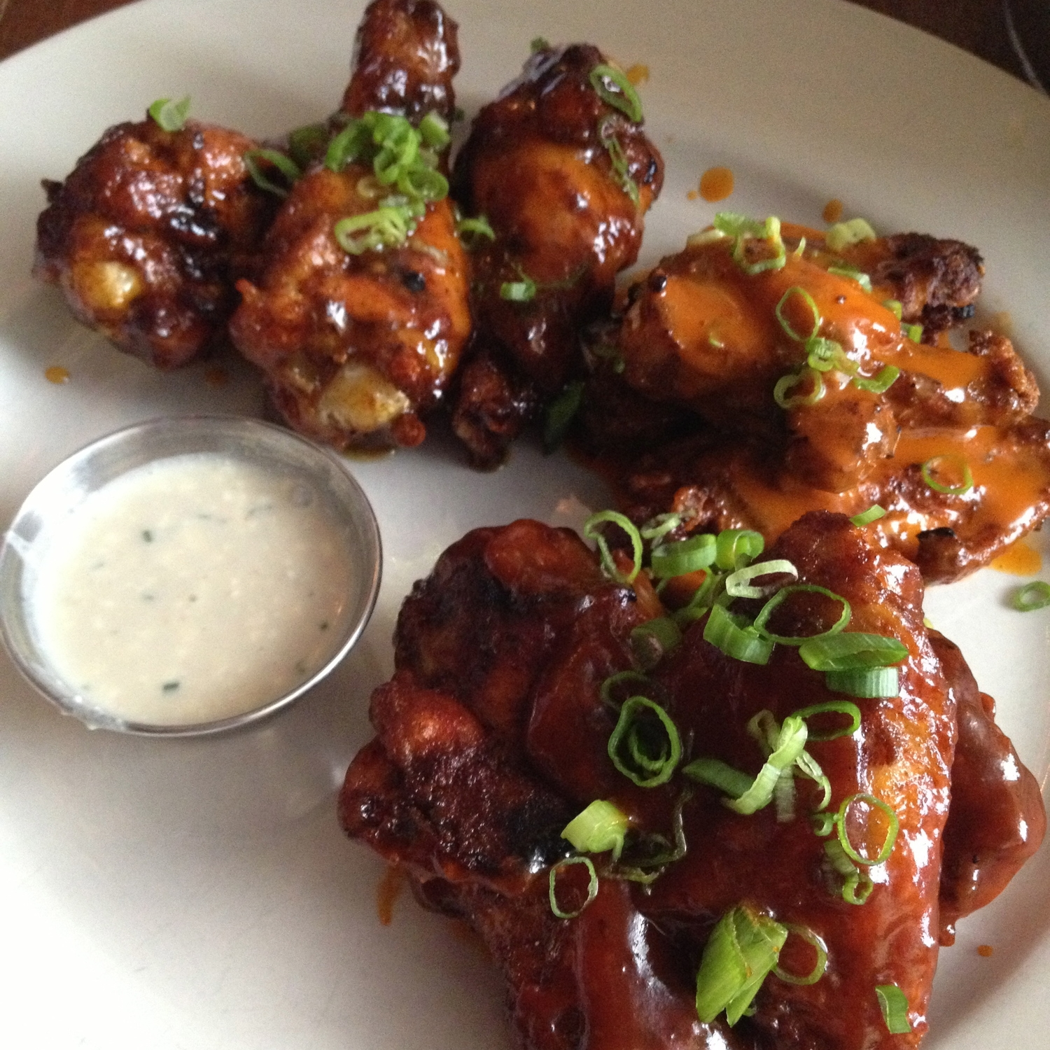 """wings are my go-to """"app for dinner"""" choice.feels indulgent without thecarb crash!"""