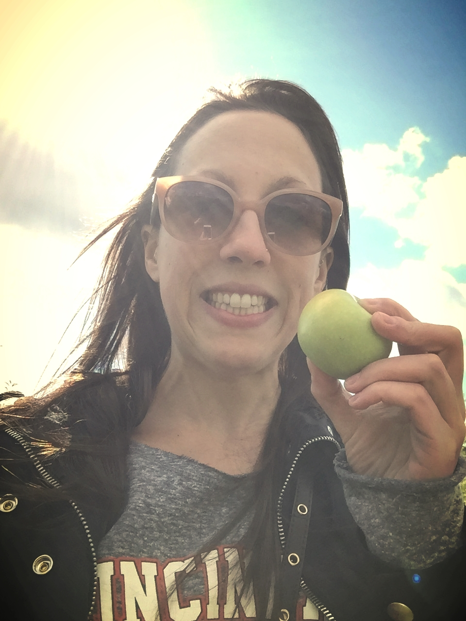 Mini apple picked while apple picking this weekend!