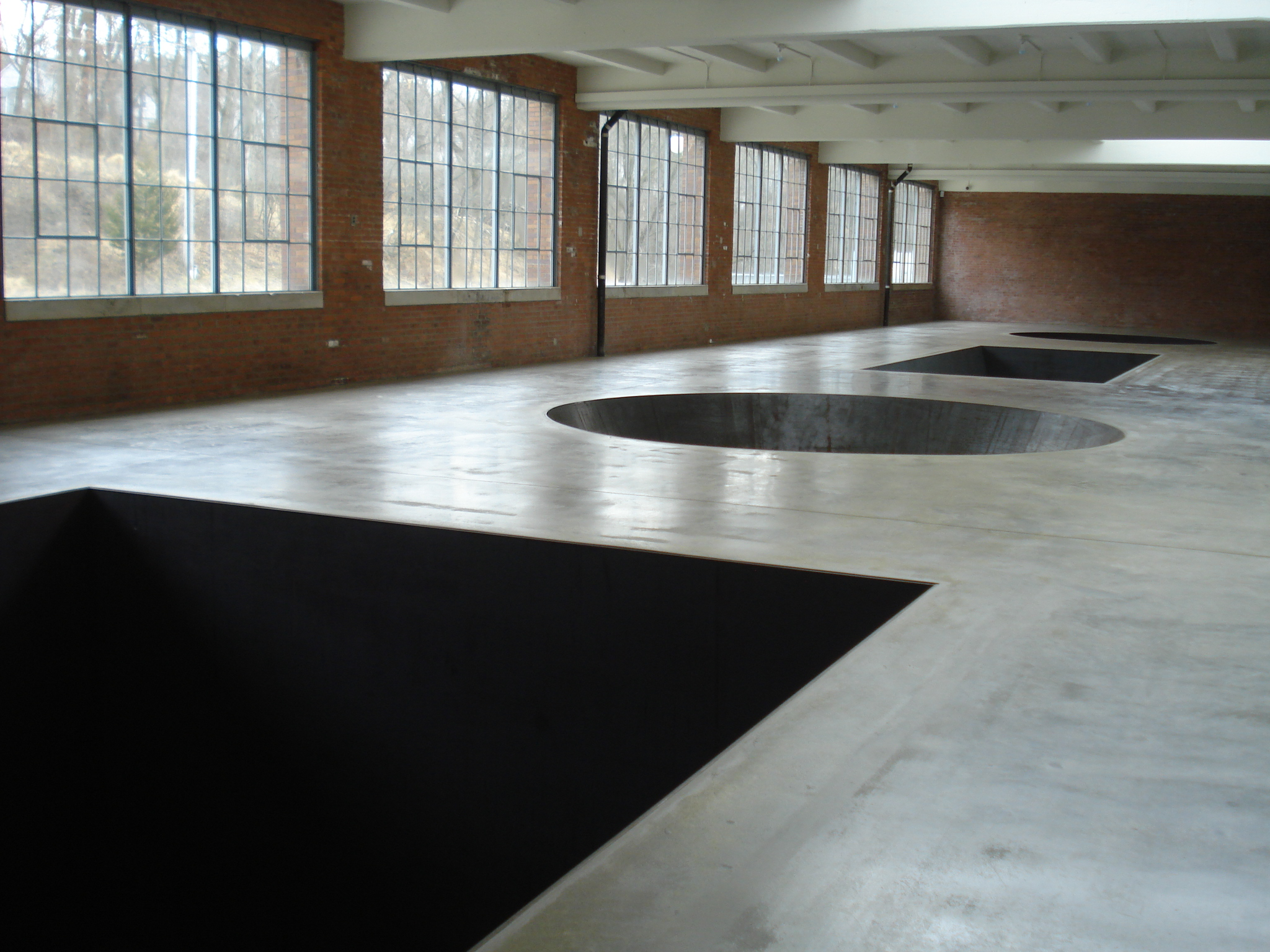 Michael Heizer's 'North, East, South, West'