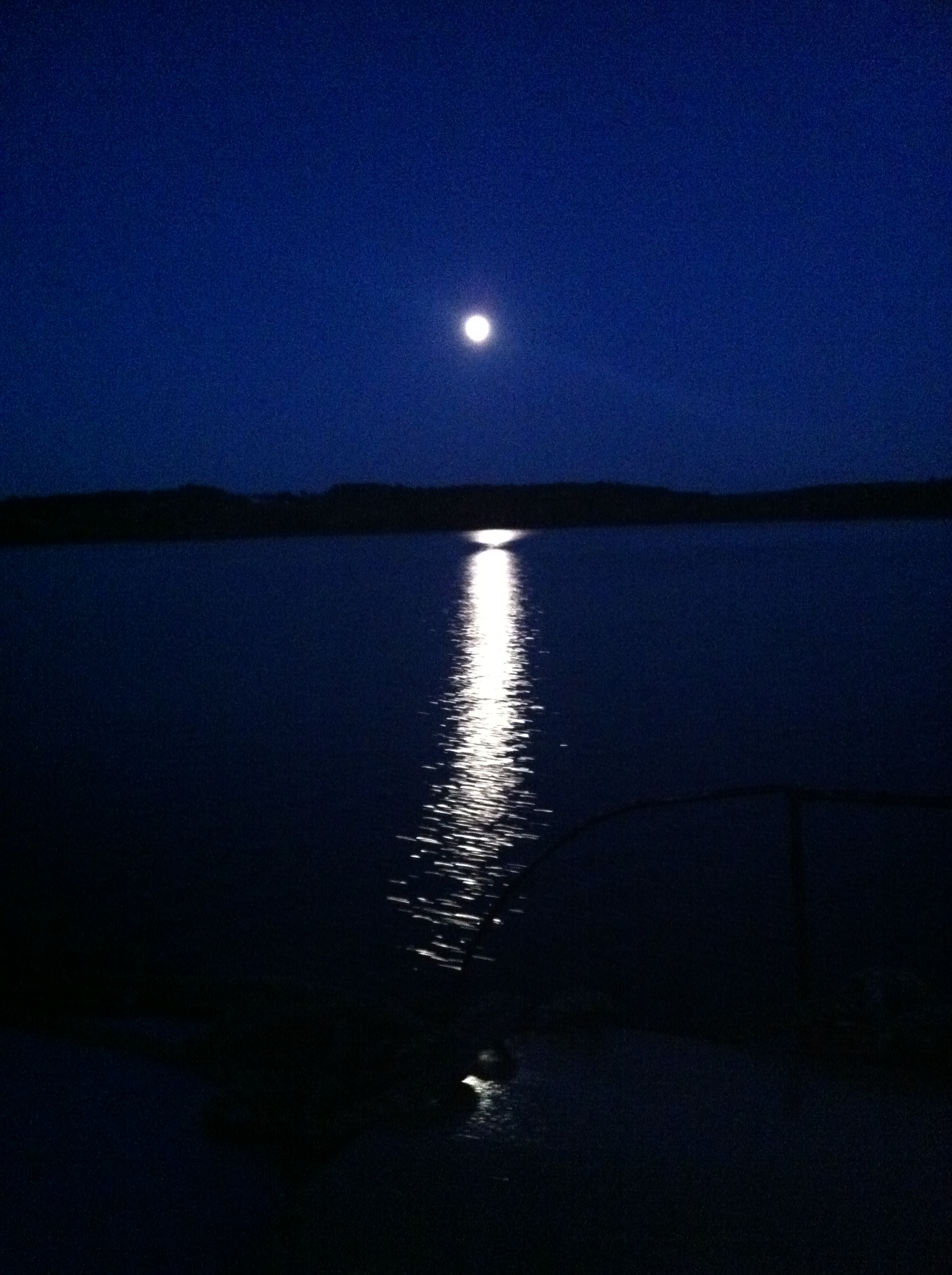 SAILING BY THE SUPERMOON