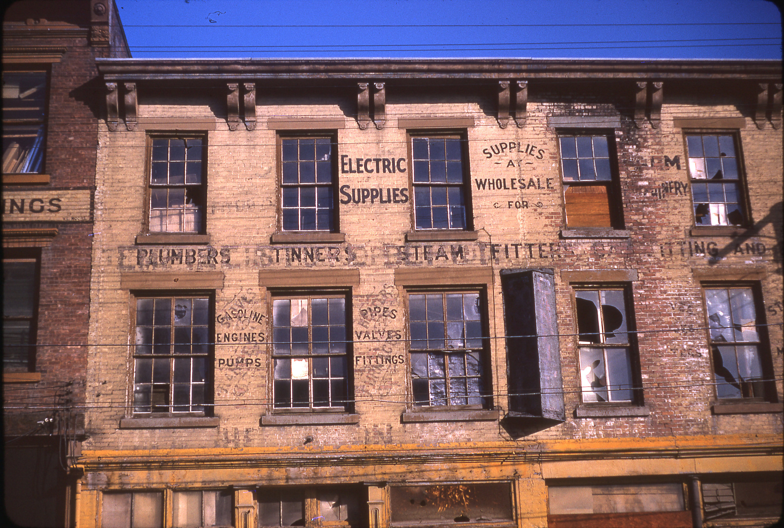 Ferry Street - Canfield's Supply   (Photo by Eugene C. Dauner)