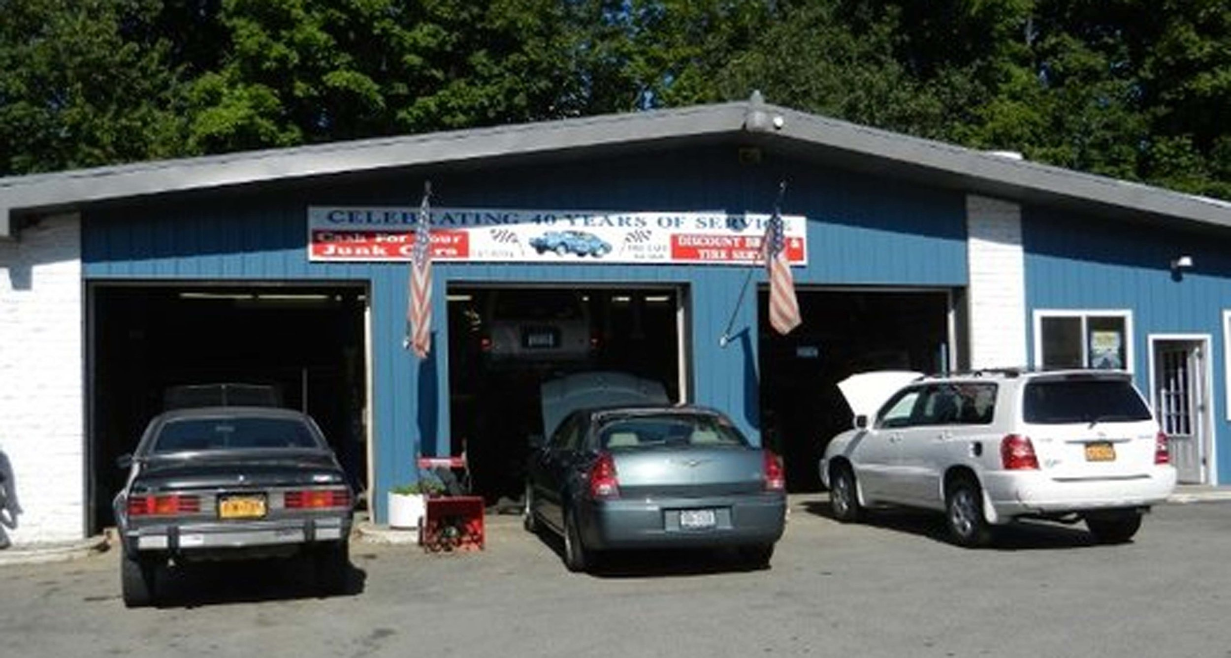 C&V Discount Tire & BrakeFamily Owned & Operated for 48 YearsComplete Automotive Service & Repair - Corner of Rts. 52 & 82, Fishkill, NY845.896.9060