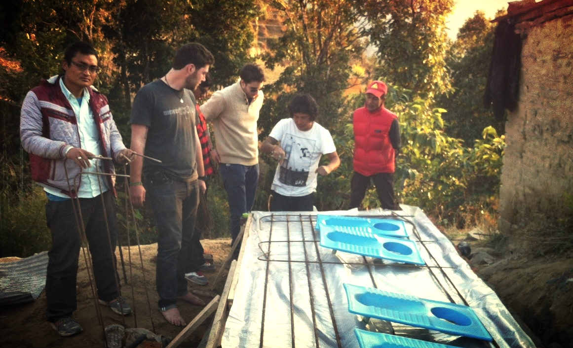 Learning alongside local engineers and community volunteers