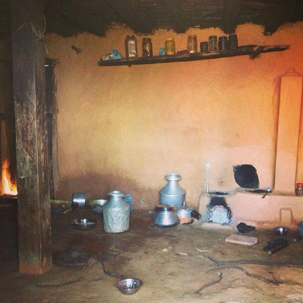 A typical Nepali Kitchen