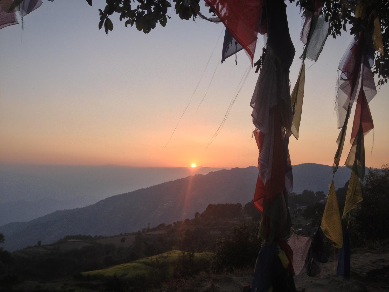 Nuwakot at sunset