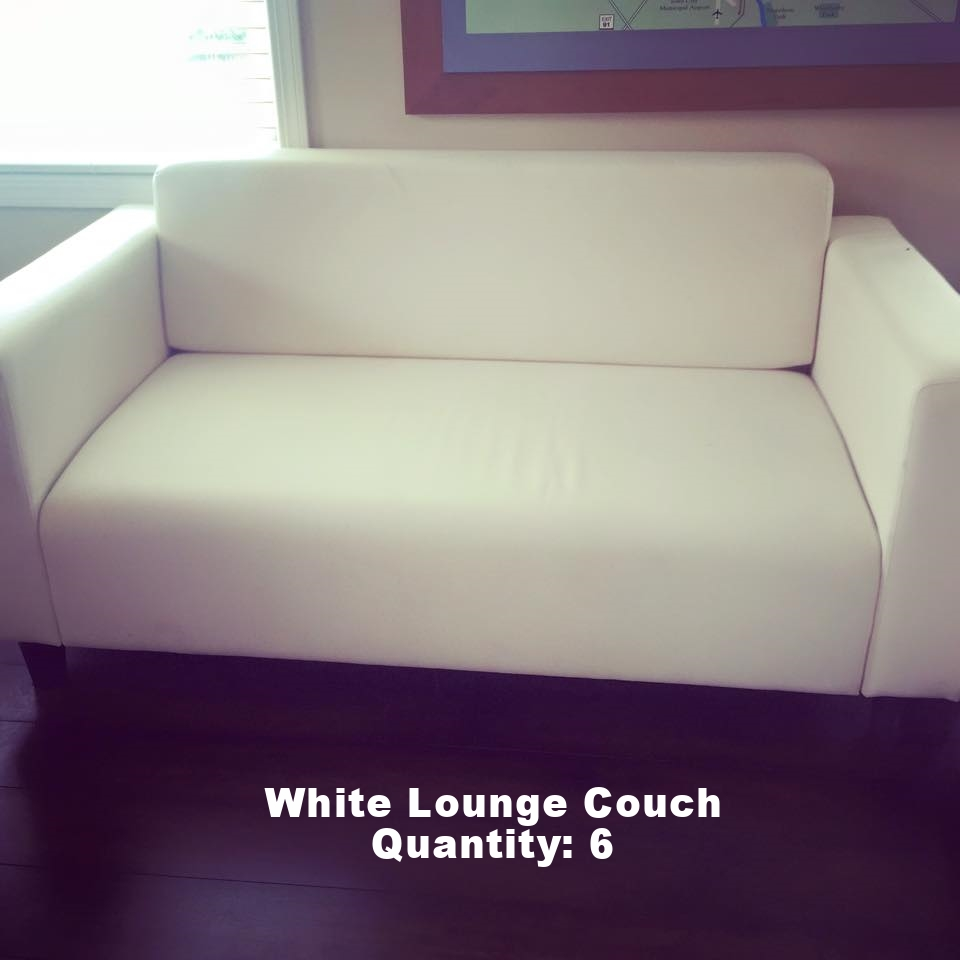 White Lounge Couch