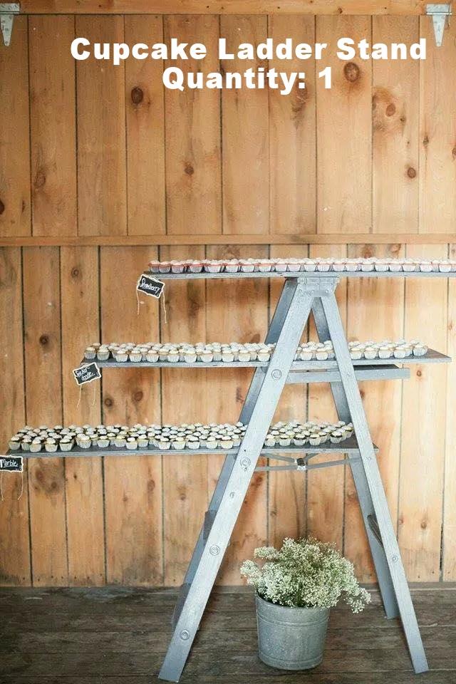 Cupcake Ladder Stand