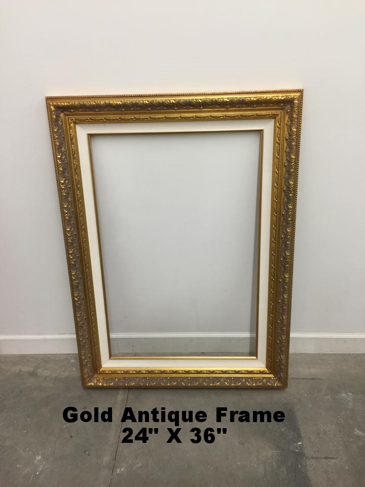 Antique Gold Frame
